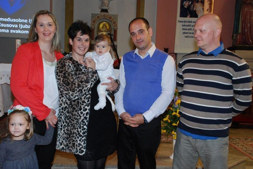 24. travnja 2016. - Krštenje Marijete Cincarević