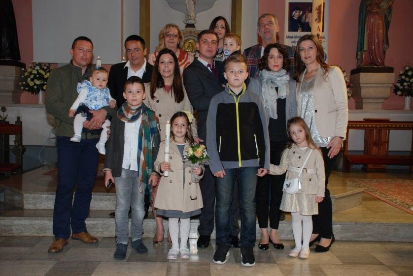 2. travnja 2016. - Sakrament Krštenja primio je Tin Ivan Omerović