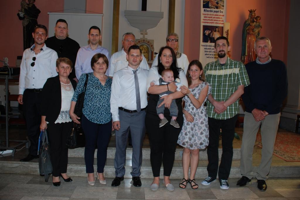 22. svibnja 2016 - Kantrida - Kršten je Luka Benković