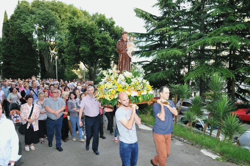 13. lipnja 2016. Proslava župnog blagdana svetog Antuna Padovanskog