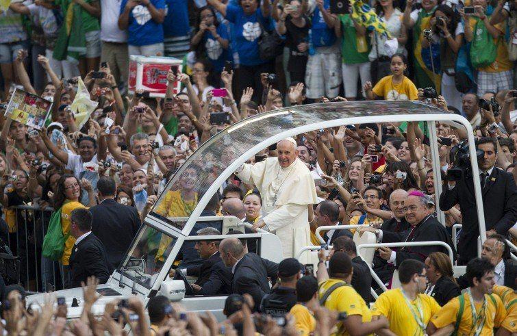 28. srpnja 2016. - Papa s mladima u Krakovu