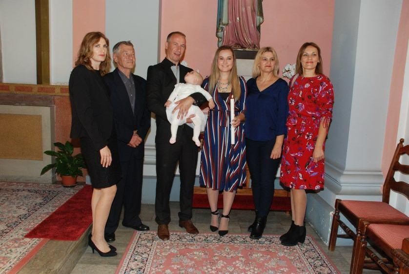 14. listopada 2017. - Krštenje Tanje Bagić na Kantridi