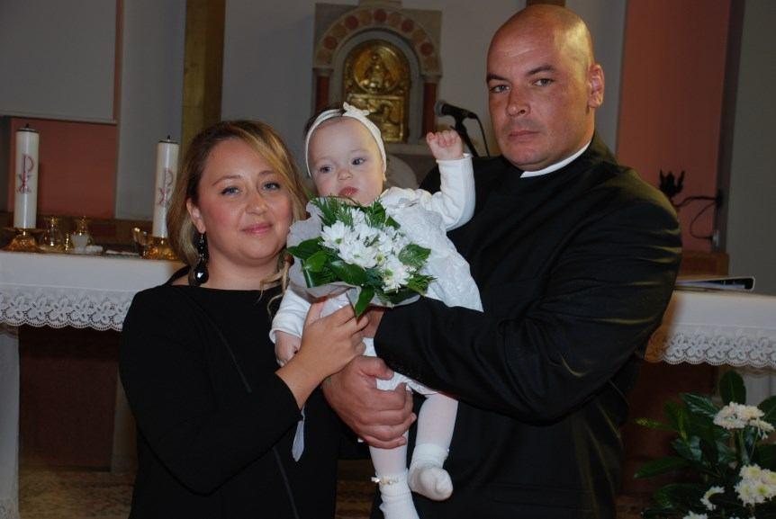 1. listopada 2017. - Krštenje Mie Anke Mihaljević