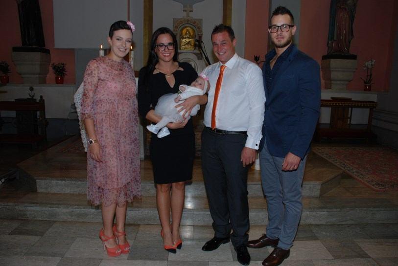 30. rujna 2017. - Krštenje Zare Kos na Kantridi