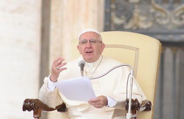 25. listopada 2017. - Papina kateheza na općoj audijenciji u srijedu