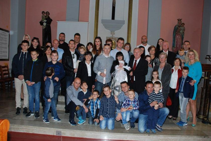 7. listopada 2017. - Krštenje Lane Tržić na Kantridi