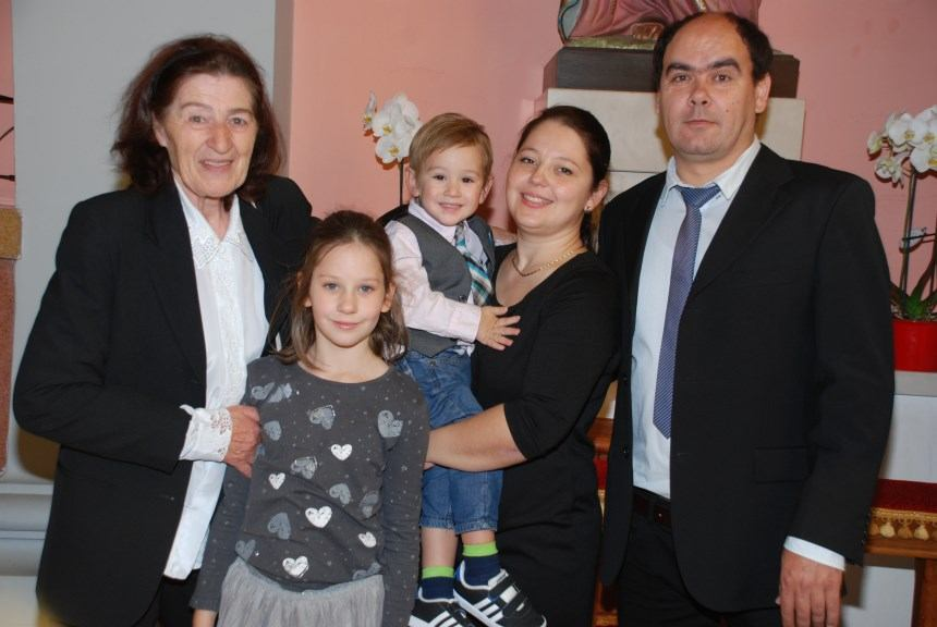 8. listopada 2017. - Sakrament Krštenja - Andrija Jurasić