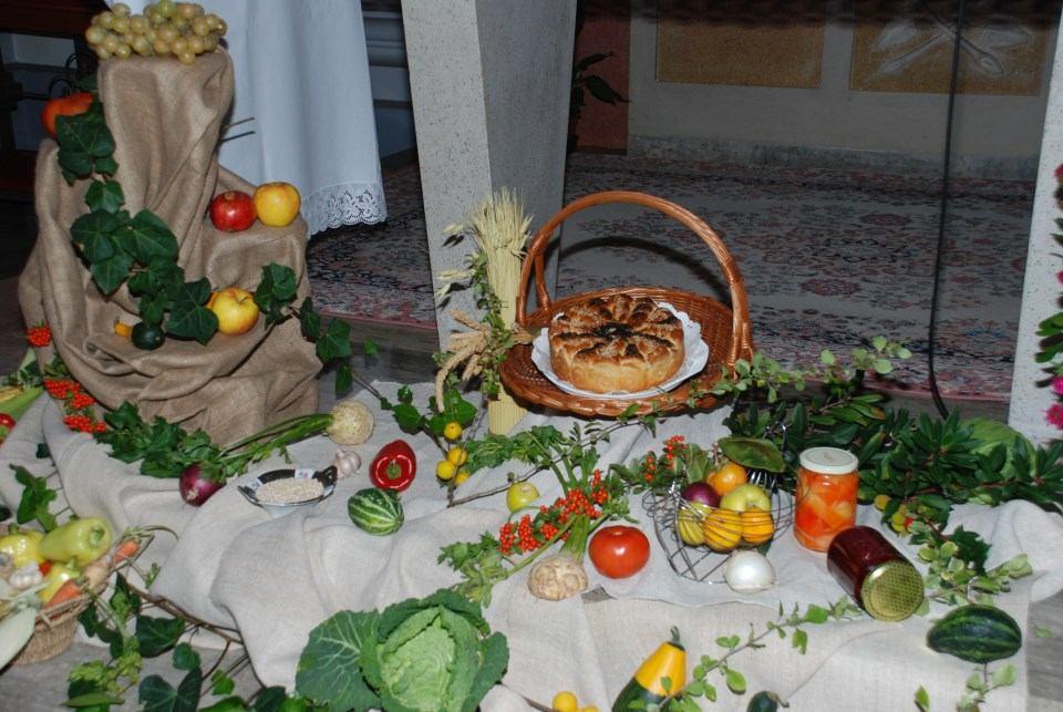 8. listopada 2017. - Dan zahvale Bogu za plodove zemlje