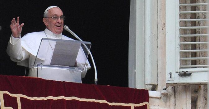 12. studenoga 2017. - Papin nagovor uz molitvu Anđeo Gospodnji u nedjelju