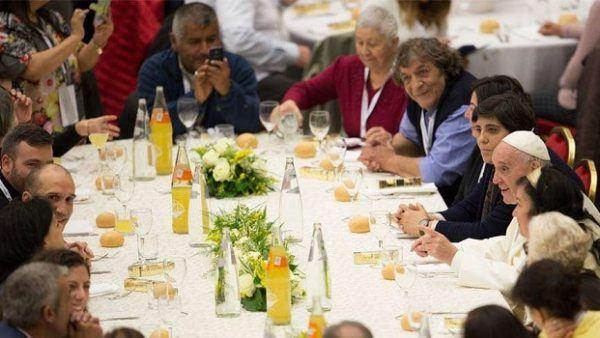 19. studenoga 2017. - Vatikan - Svjetski dan siromaha u Vatikanu