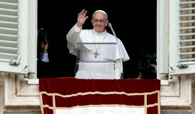 26. prosinca 2017. - Papin nagovor uz molitvu Anđeo Gospodnji na blagdan sveti Stjepana