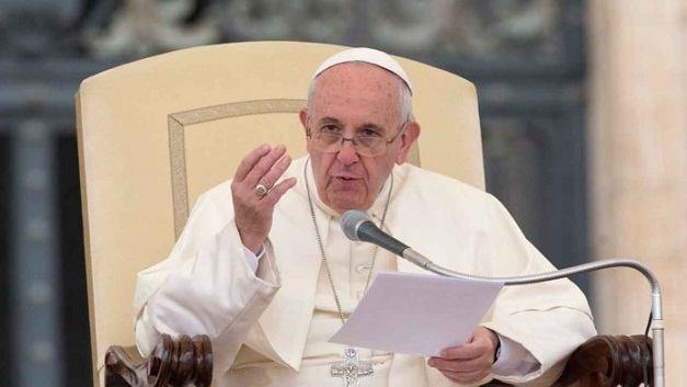12. travnja 2017. - Papina kateheza na općoj audijenciji u srijedu