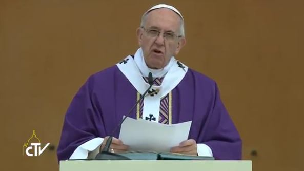 2. travnja 2017. - Papa u posjetu Carpiju