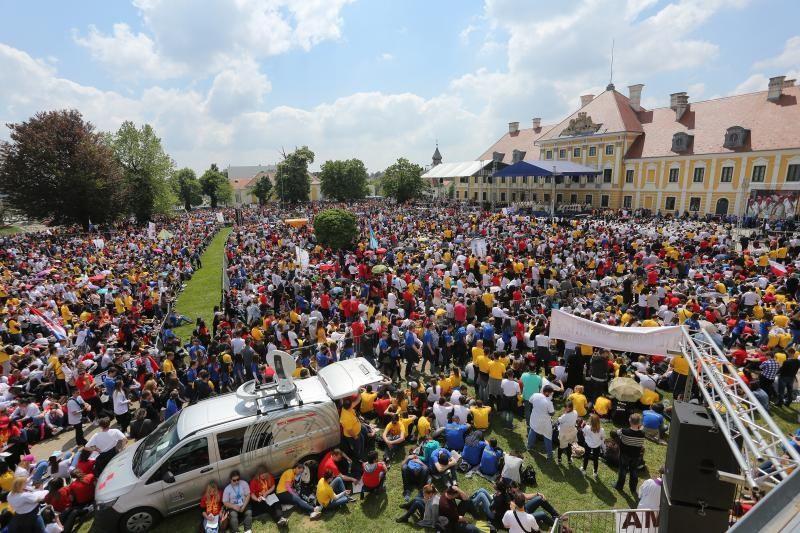 30. travnja 2017. u Vukovaru - Susret hrvatske katoličke mladeži