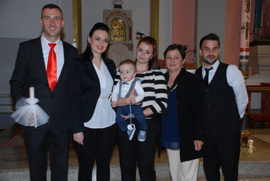 6. svibnja 2017. - Kršten Deni Šimičić