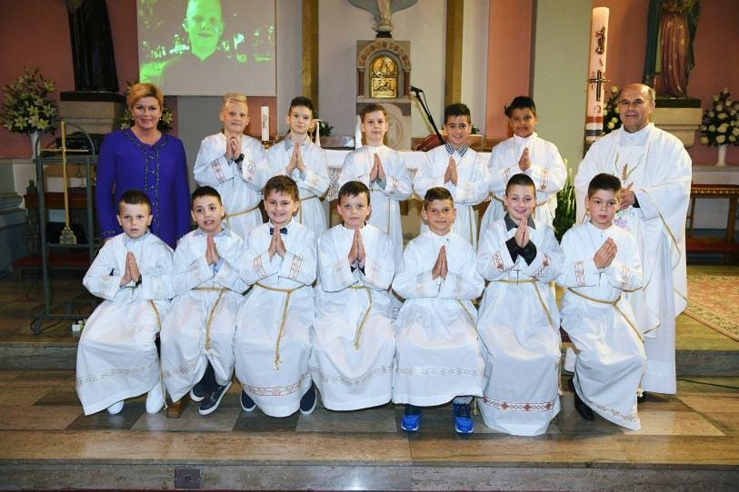 7. svibnja 2017. - Prva Sveta Pričest na Kantridi