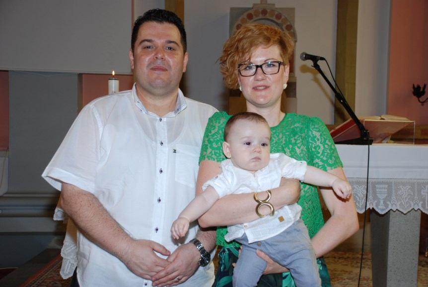 24. lipnja 2017. - Sakrament Krštenja Pjer Dugina