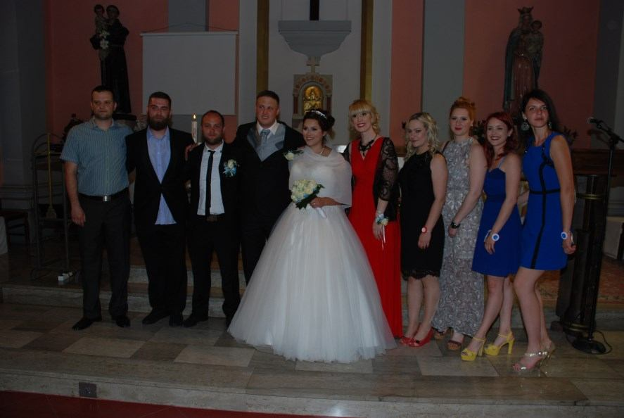2. lipnja 2017. - vjenčanje Igora Kardum i Sabine Jakupović