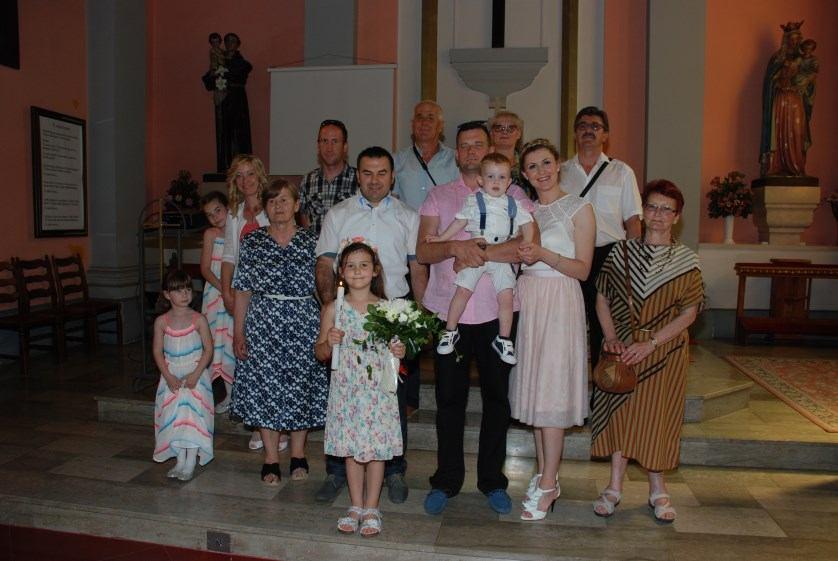 3. lipnja 2017. - Sakrament Krštenja Lean Suzić