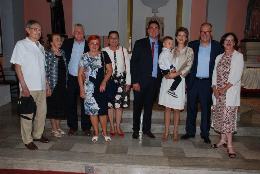 15. srpnja 2017. - Sakrament Ženidbe Andrija i Maša Marochini Zrinski