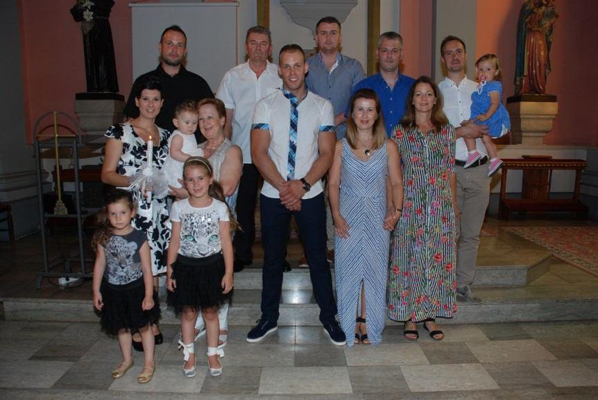 23. srpnja 2017. - Krštenje Paule Janković na Kantridi