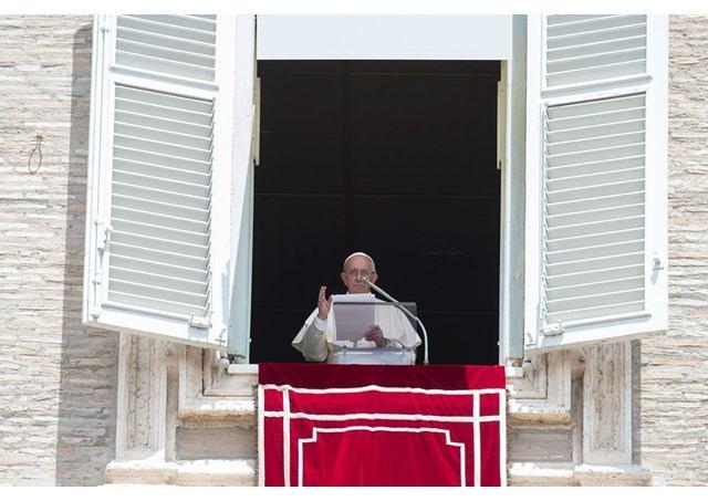 2. srpnja 2017. - Papin nagovor uz molitvu Anđeo Gospodnji u nedjelju