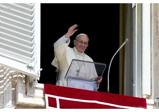 17. rujna 2017. - Papin nagovor uz molitvu Anđeo Gospodnji u nedjelju