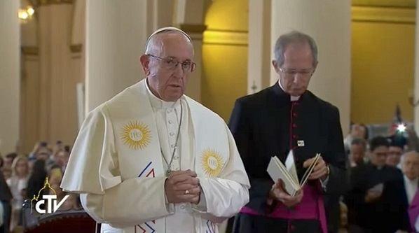 7. rujna 2017. - Papa Franjo potaknuo Kolumbijce nek nastave ići putom mira i pomirenja