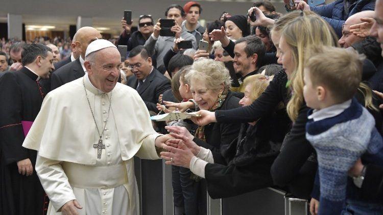 3. siječnja 2018. - Papina kateheza na općoj audijenciji u srijedu