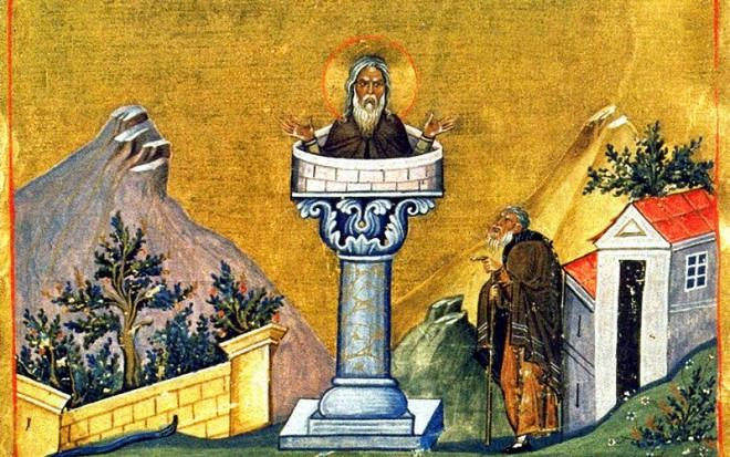 5. siječnja - Sveti Šimun Stilit, asket, pokornik (390-459)