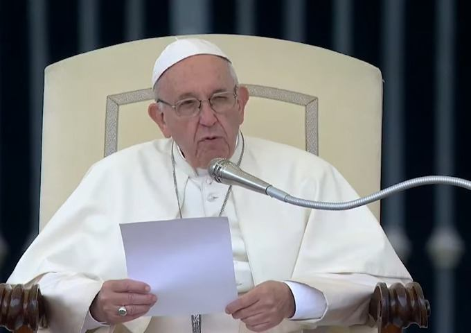17. listopada 2018. - Papina kateheza na općoj audijenciji u srijedu