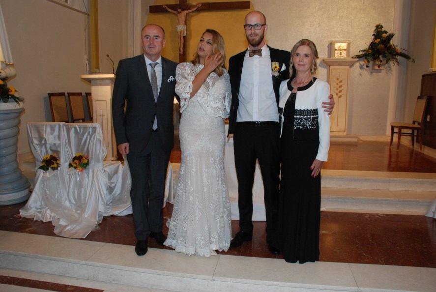 9. studenoga 2018. - Sakrament Ženidbe Matije i Jelene Nemetz