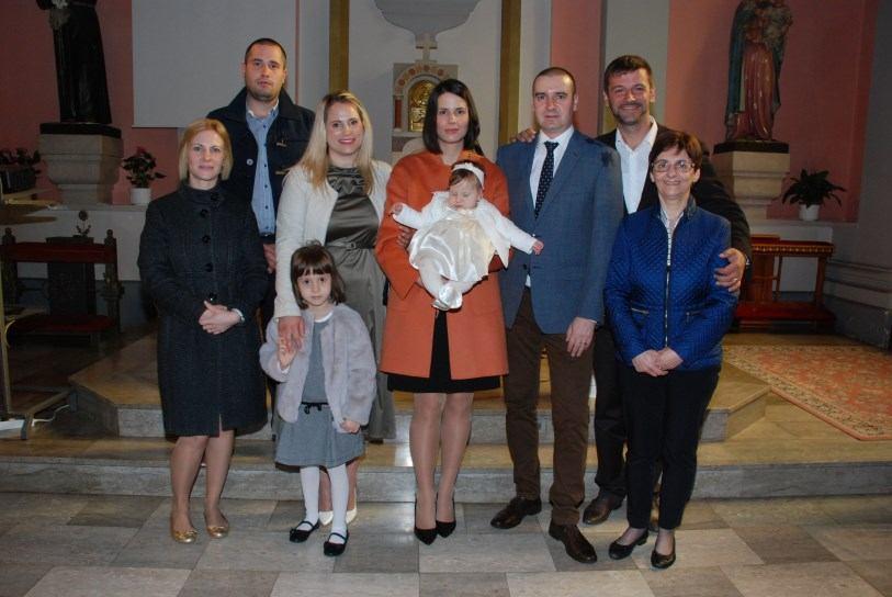 11. studenoga 2018. - Krštenje Zore Orešković na Kantridi
