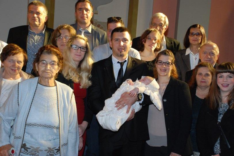 4. studenoga 2018. - Krštenje Gloria Glogenšek