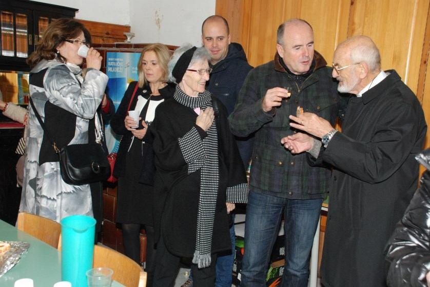 25. prosinca 2018. - Čestitanje Božića na Kantridi