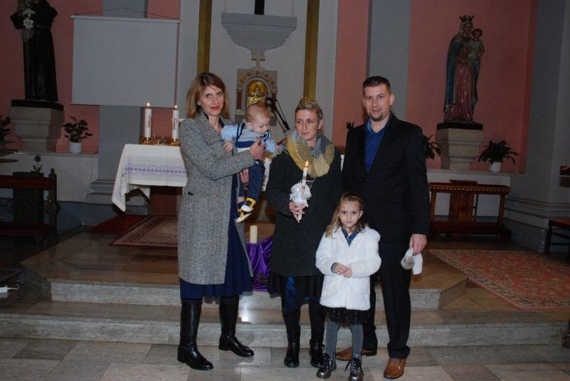 8. prosinca 2018. - Sakrament Krštenja Andre Šokec