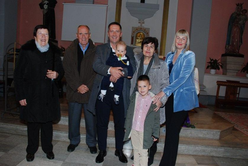9. prosinca 2018. - Krštenje Frane Ercegović