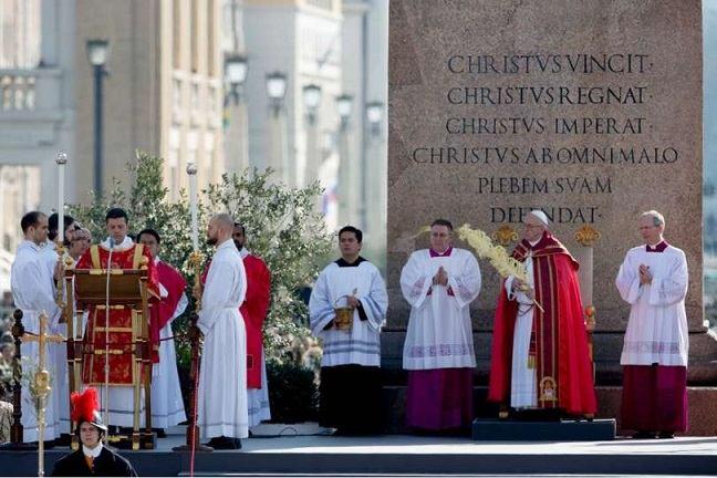 25. ožujka 2018. - Cvjetnica u Vatikanu