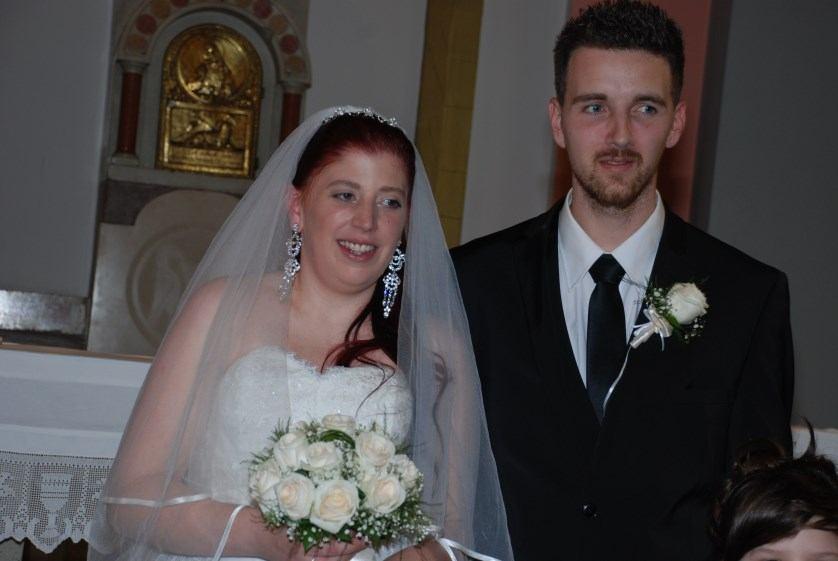 14. travnja 2018. - Sakrament ženidbe Ivica Jakovljević i Marina Vlah