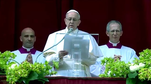 1. travnja 2018 - Uskrs 2018. - Poruka Urbi et orbi pape Franje