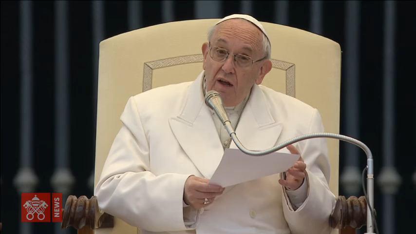 4. travnja 2018. - Papina kateheza na općoj audijenciji u srijedu
