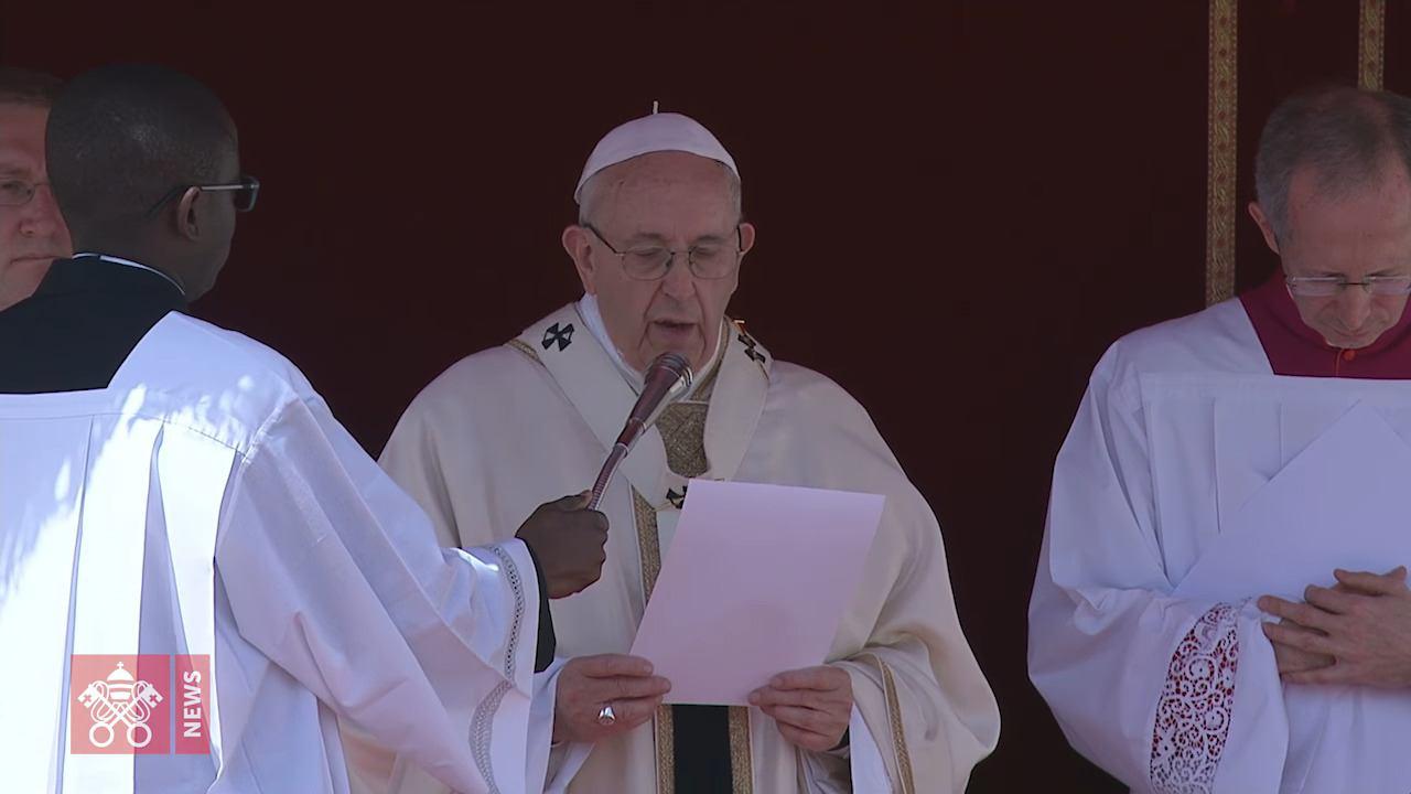 8. travnja 2018. - Papin apel povodom velikih stradanja u Siriji