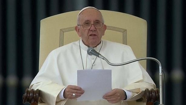 16. svibnja 2018. - Papina kateheza na općoj audijenciji u srijedu  - Apel Svetoga Oca