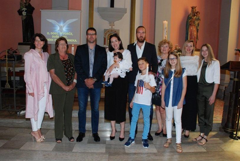 20. svibnja 2018. - Krštenje Eme Haramija
