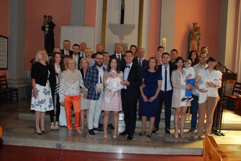 20. svibnja 2018. - Krštenje Marije Cvite Škunca
