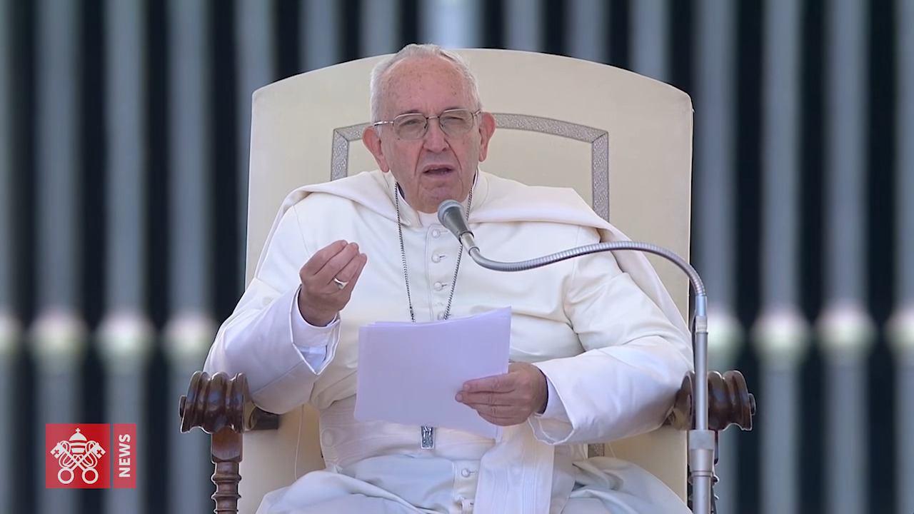 27. lipnja 2018. - Papina kateheza na općoj audijenciji u srijedu