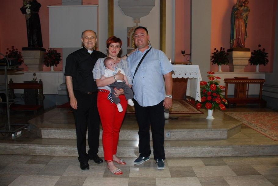 3. lipnja 2018. - Krštenje Matije Kordić