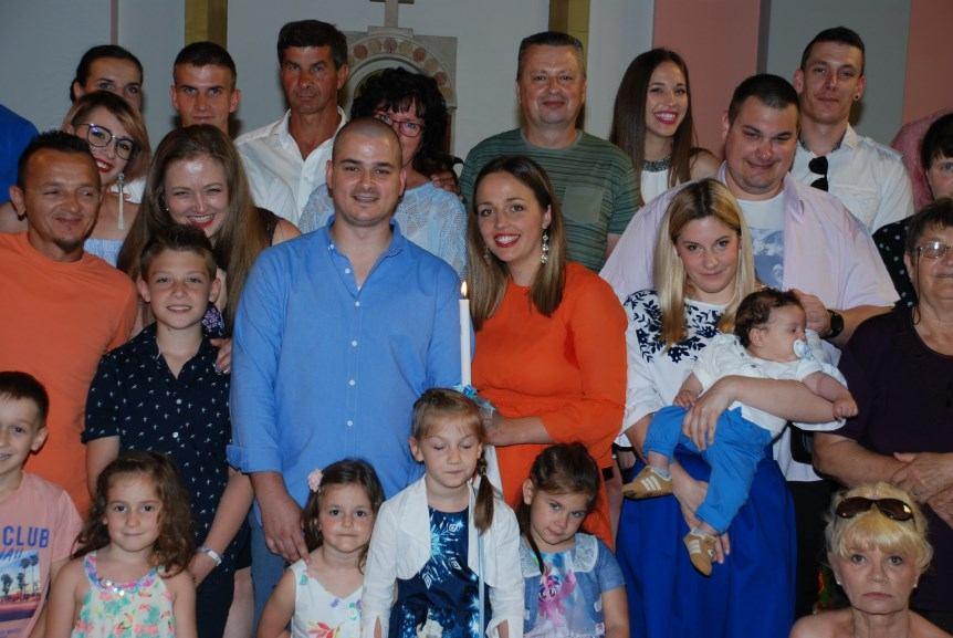 3. lipnja 2018. - Kršten je Niko Pećar