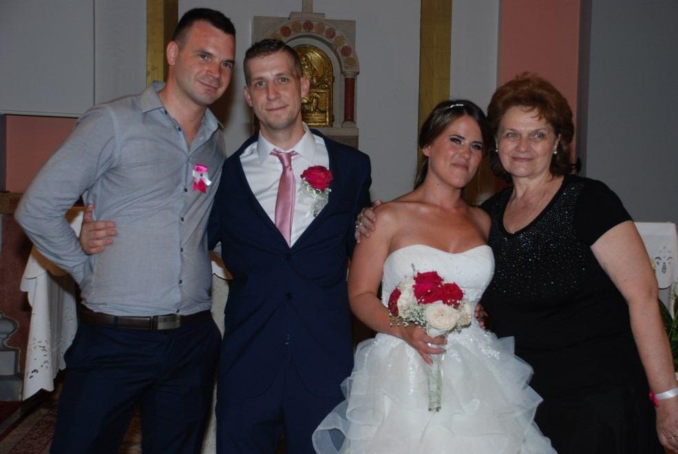 9. lipnja 2018. - Sakrament Ženidbe Marin Burazer i Andrea Čendak