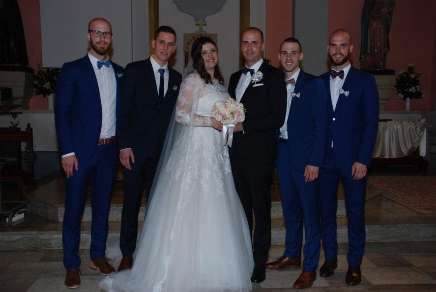 9. lipnja 2018. - Sakrament Ženidbe Marko Nemetz i Iva Pavačić